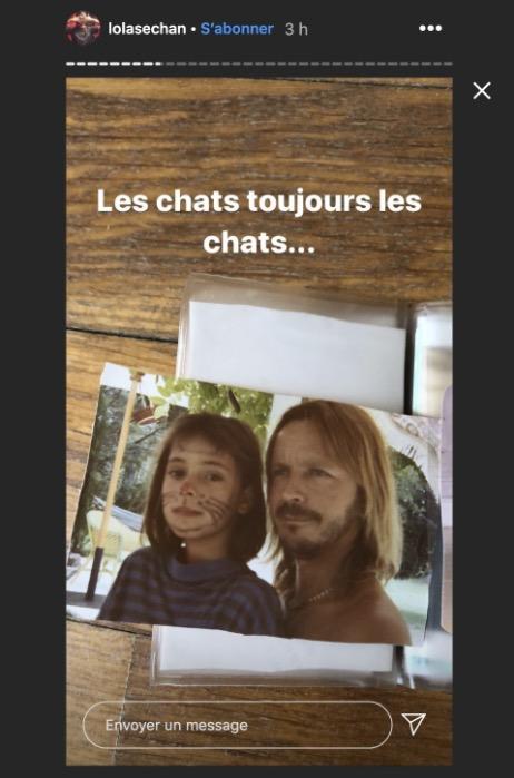 Lolita Séchan et Renaud