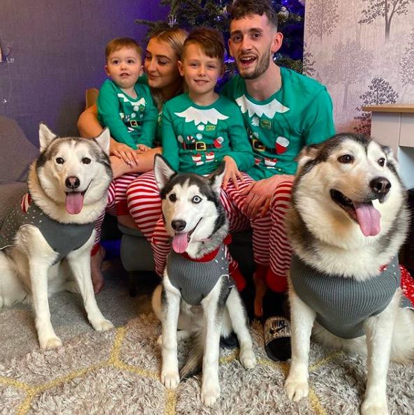 la famille des husky