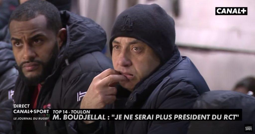 Mourad Boudjellal quitte le RC Toulon