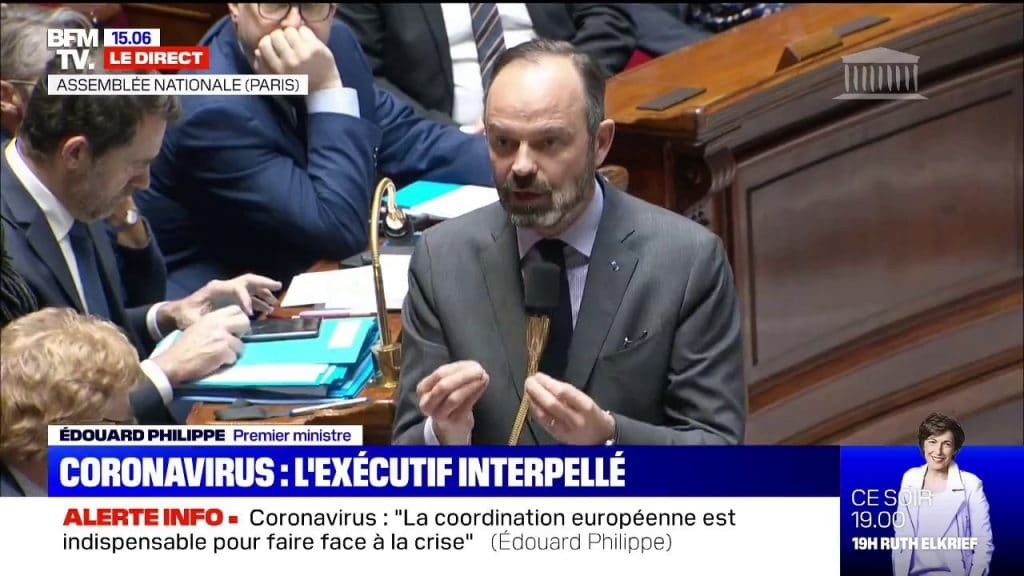Edouard Philippe au Sénat