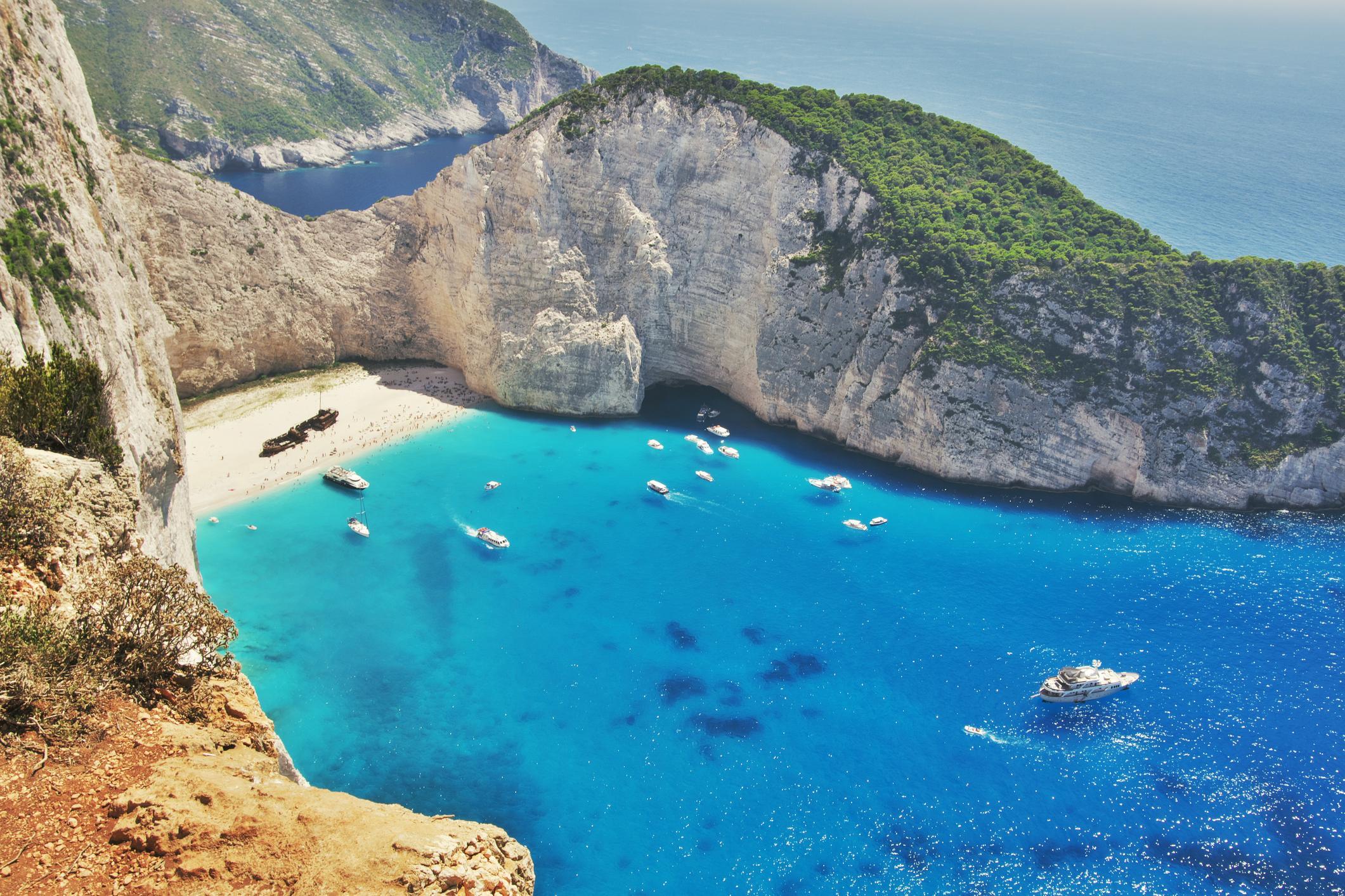 Plage en Grèce