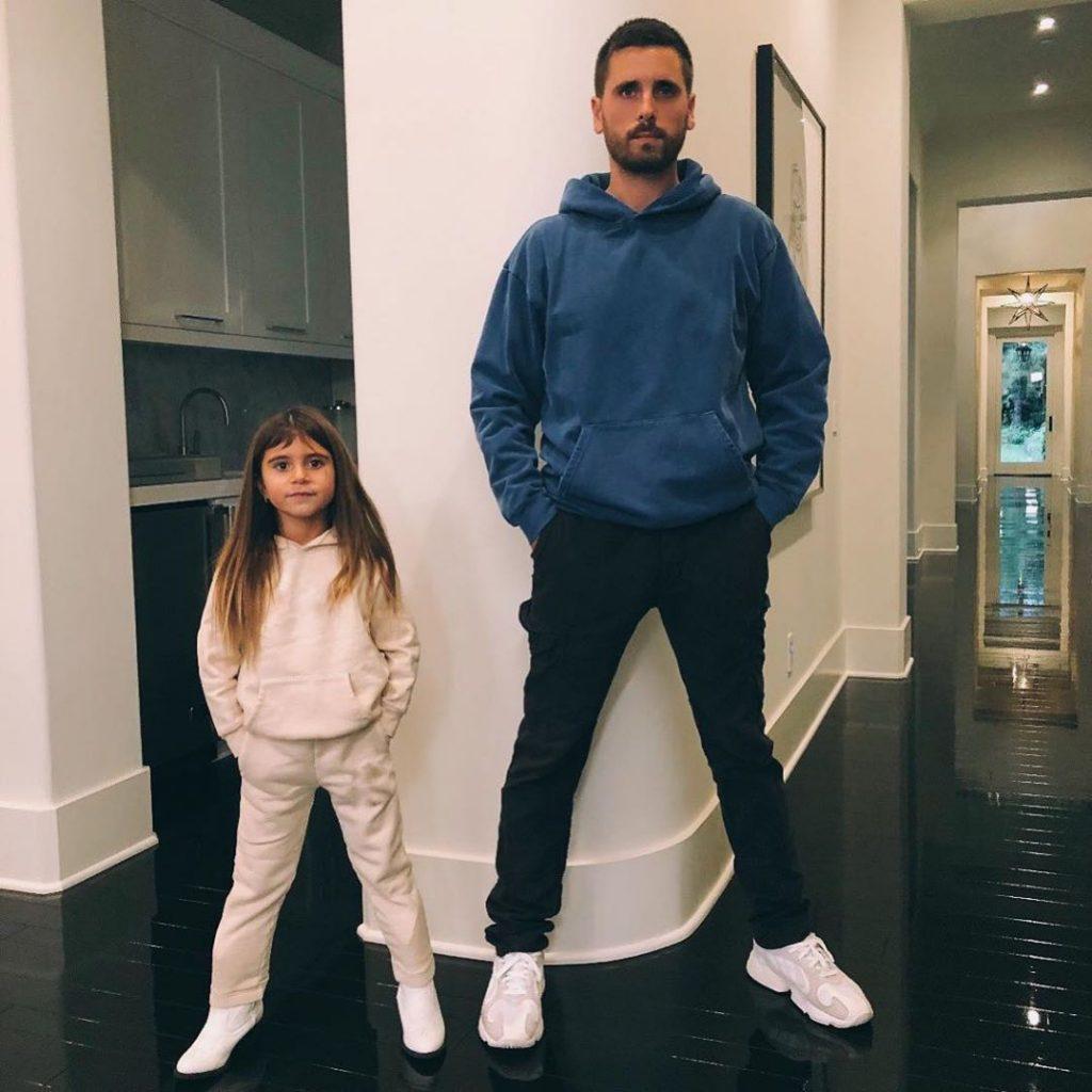 Scott Disick et sa fille