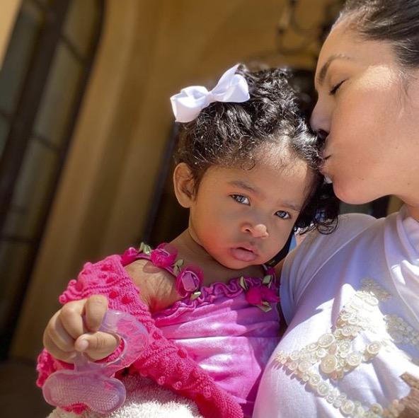 Vanessa Bryant et sa fille