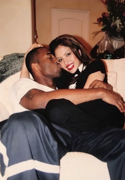 Vanessa et Kobe Bryant