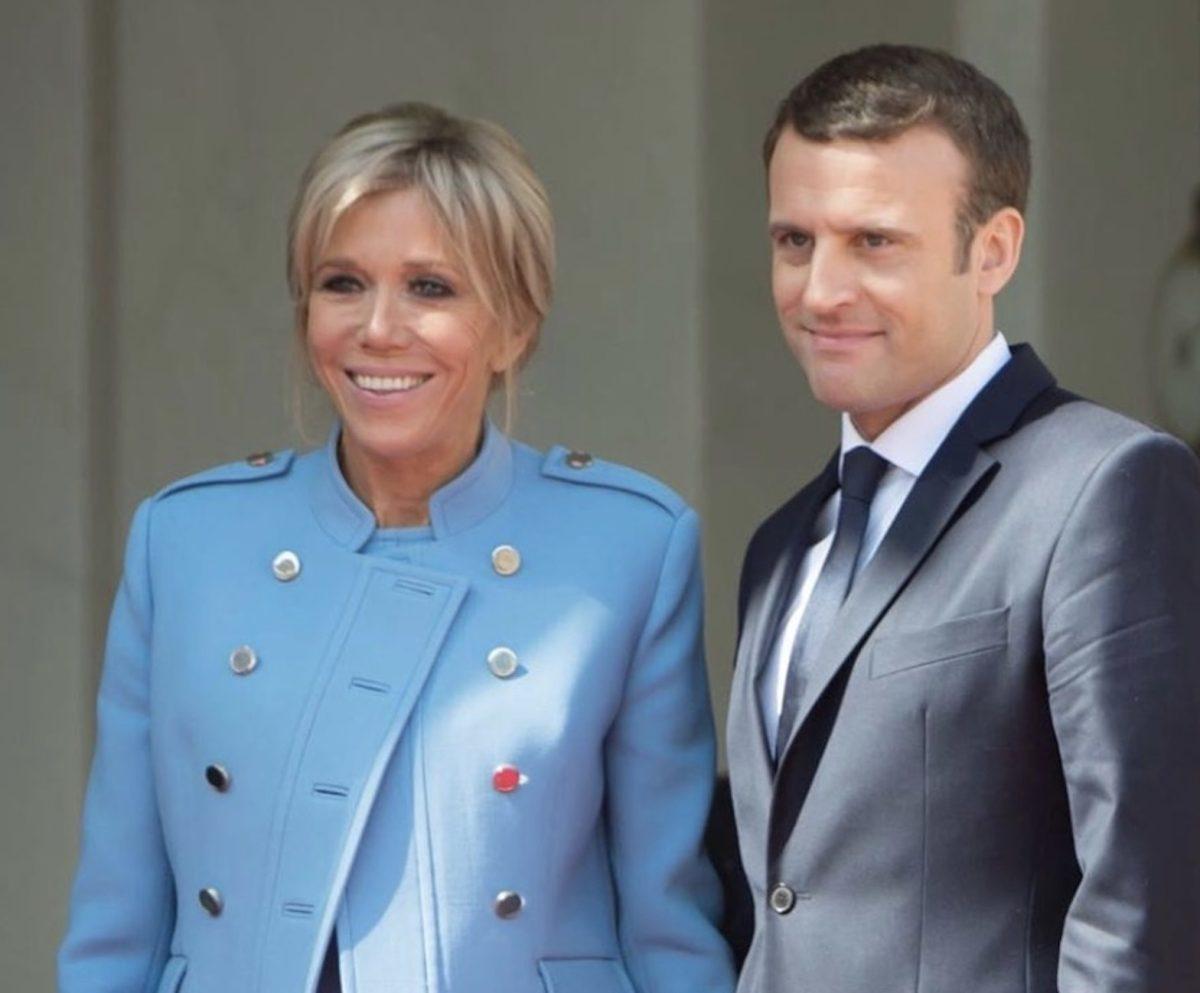 Brigitte Macron et Emmanuel