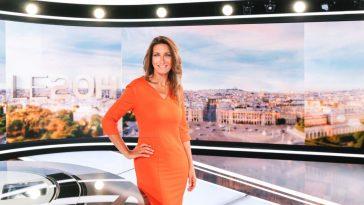Anne-Claire Coudray présente le JT de TF1