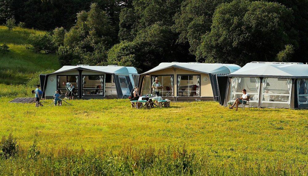 Camping en France pour les vacances