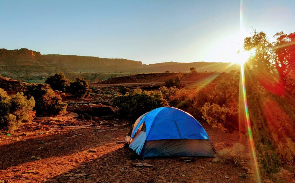 Camping en tente pour cet été