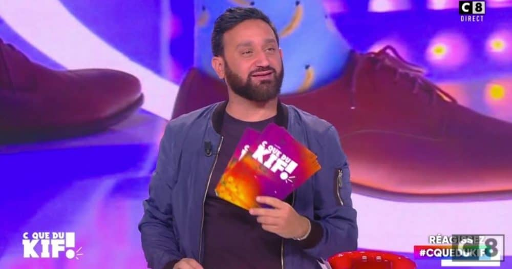 Cyril Hanouna anime désormais C que du kif