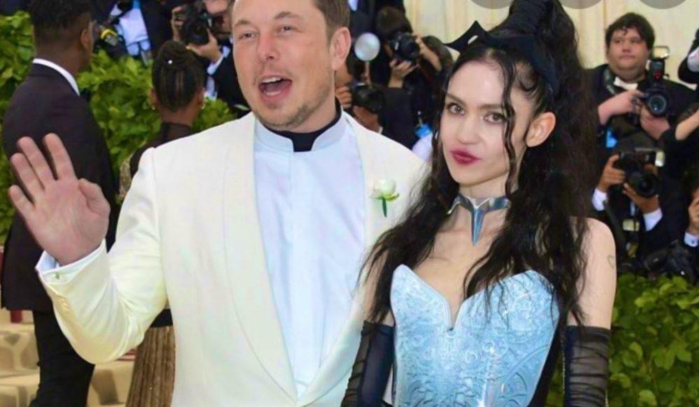 Elon Musk est heureux avec Grimes
