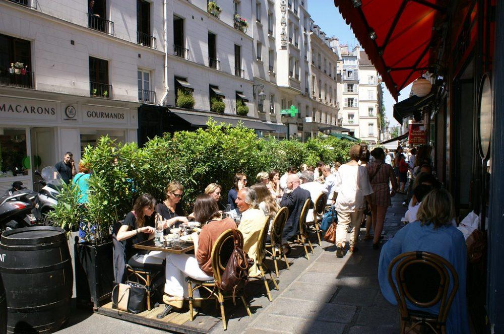 Nos adresses des meilleurs restaurants terrasse de Paris