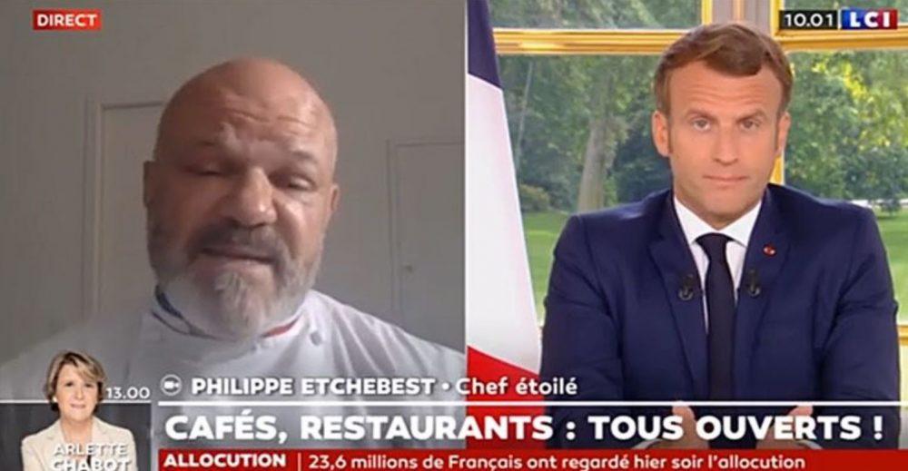 Philippe Etchebest pousse un coup de gueule contre Macron