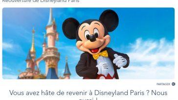 Réouverture de Disneyland Paris : quelle est la date ?