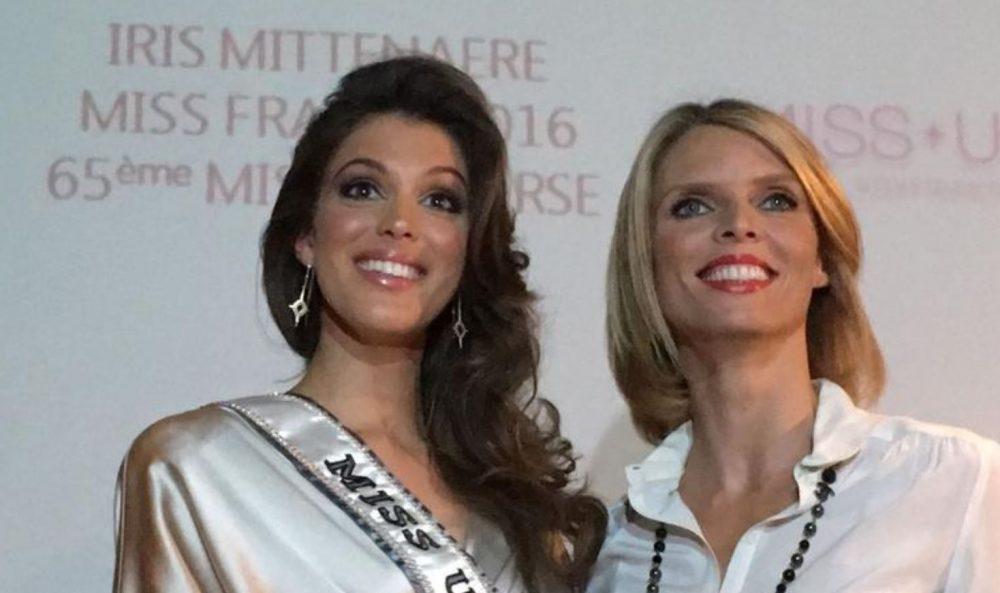 Sylvie Tellier et Iris Mittenaere