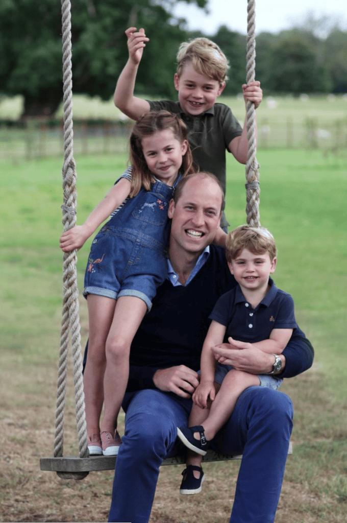 FAMILLE ROYALE BRITANIQUE