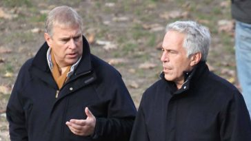 Andrew et Jeffrey Epstein