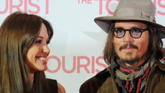 Angelina Jolie et Johnny Depp