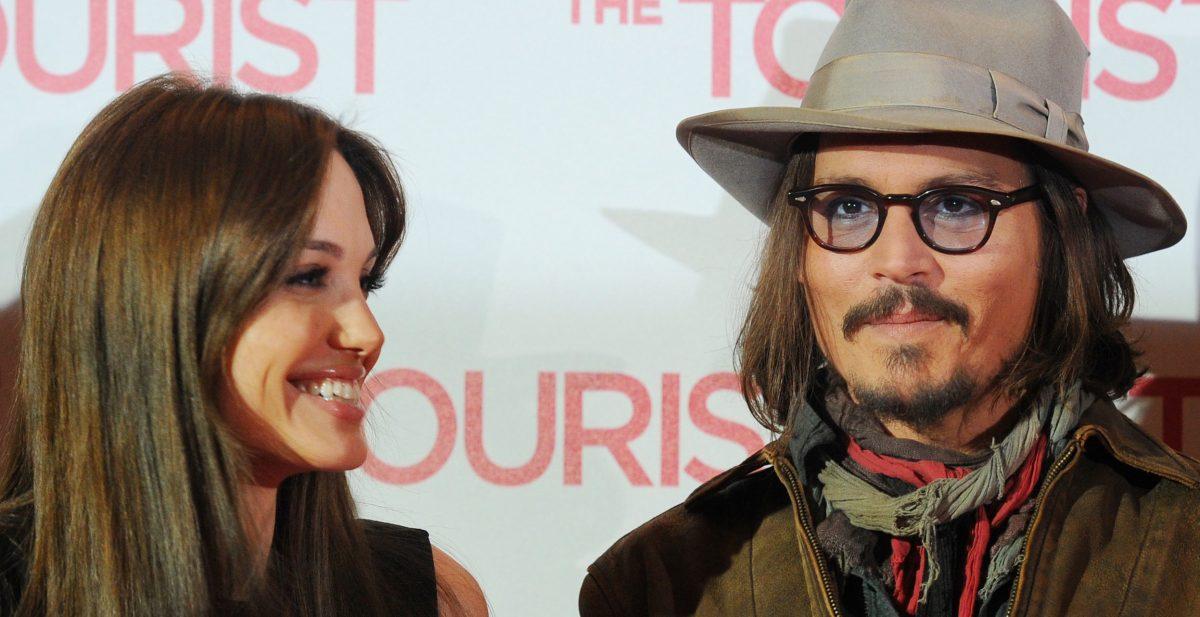 Angelina Jolie et Johnny Depp