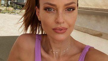Caroline Receveur fait grimper la température en bikini à la plage à Dubaï !