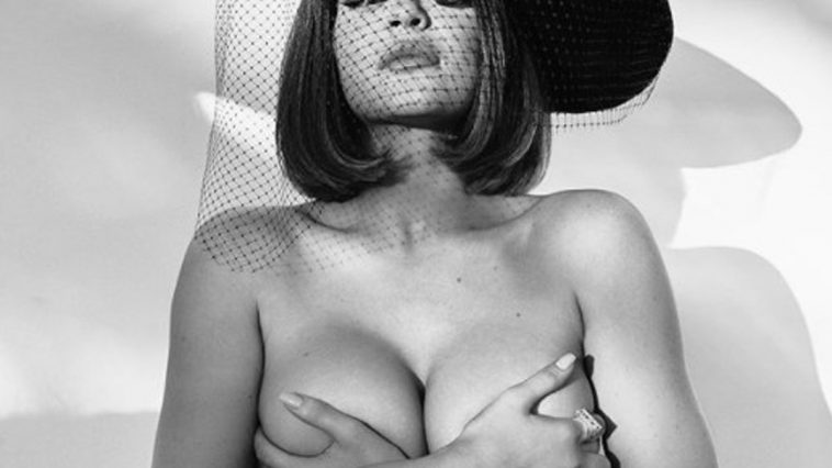 « Photo bombe » fatale : Kylie Jenner célibataire pose topless face caméra