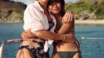Laeticia Hallyday éclatante de bonheur à Saint-Barth avec Jade pour son anniversaire
