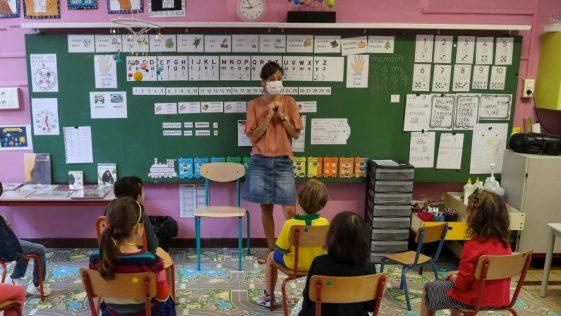 Maîtresse de classe
