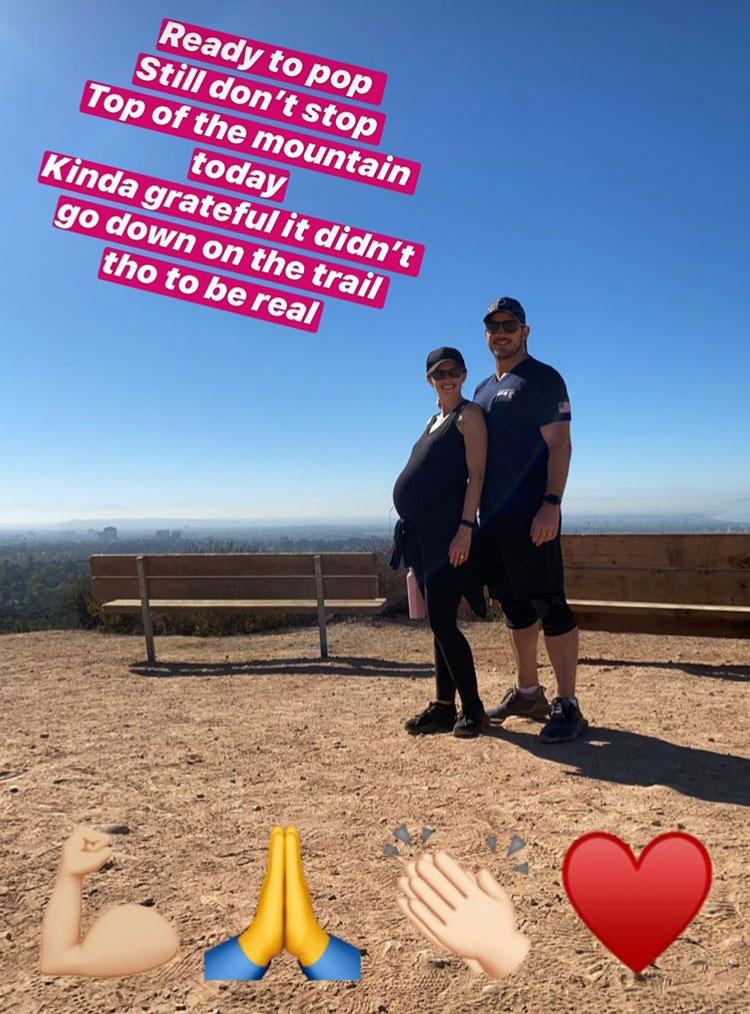 Story Instagram Katherine Schwarzenegger