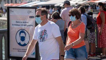 Vacances d'été: le port du masque obligatoire dans de nouveaux quartiers à Paris et les Bouches-du-Rhône !