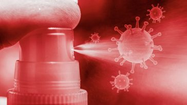 Spray contre le coronavirus