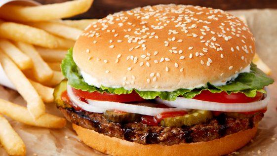 Hamburger de Burger King