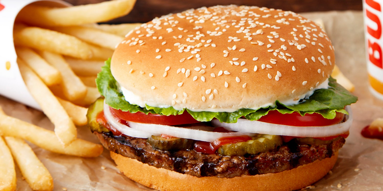 Hamburger de Burger King
