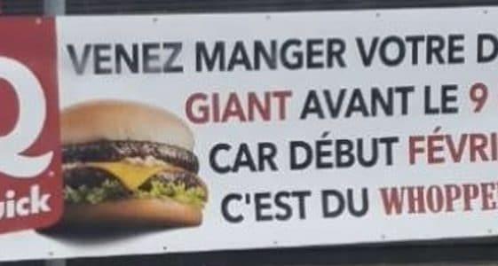 Affiche Burger King