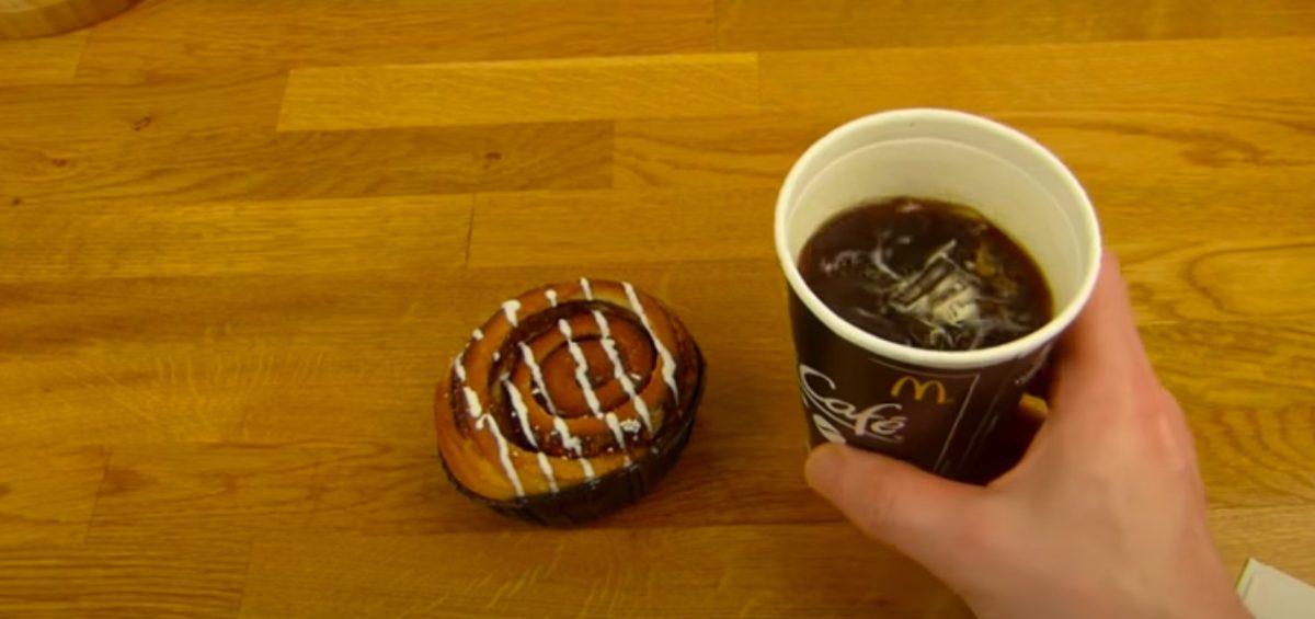 Cinnamon roll de McDonald's
