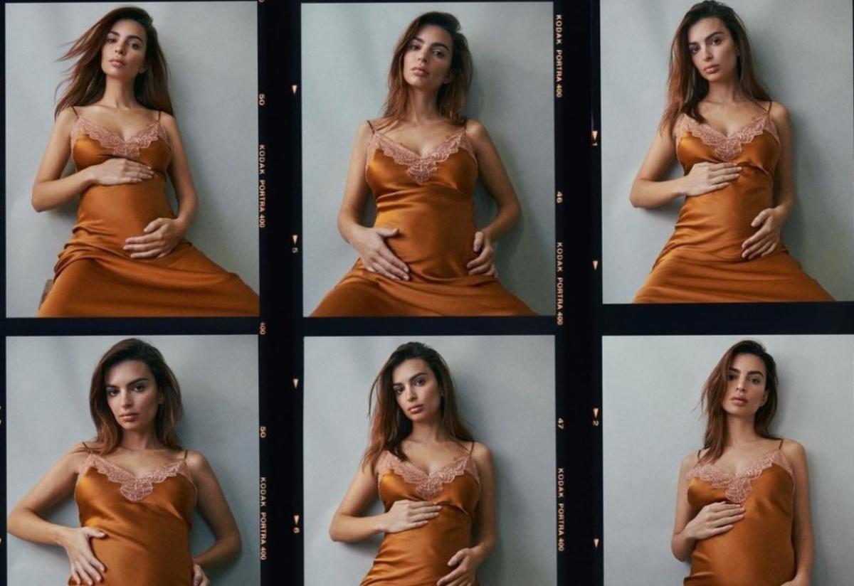 Emily Ratajkowski enceinte