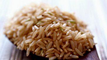 Cuillère de riz brun