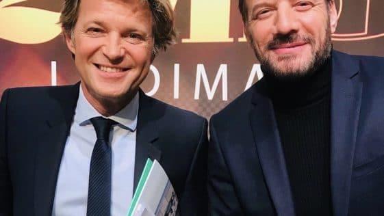 Samuel Le Bihan et Laurent Delahousse