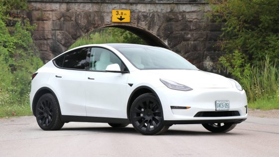 Voiture Tesla Model Y
