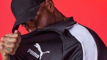 Booba porte du Puma
