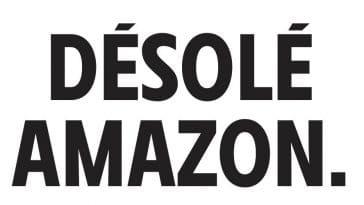 Désolé Amazon