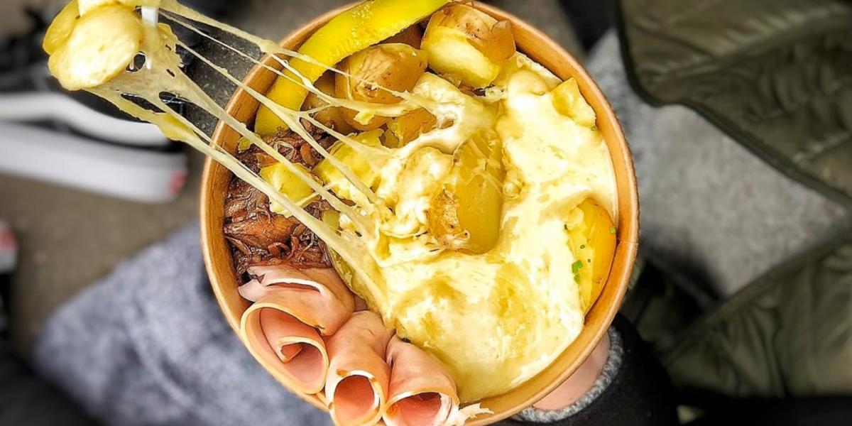 Raclette bowl